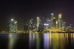 Skyline of Singapore Stock Photos