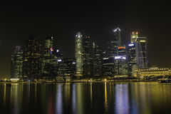 Skyline of Singapore Royalty Free Stock Image