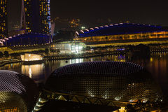 Skyline of Singapore Stock Image