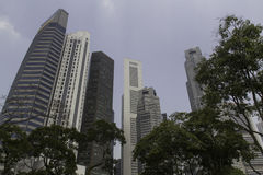 Skyline of Singapore Royalty Free Stock Images