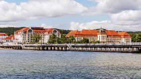 Skyline of Sopot Royalty Free Stock Photography