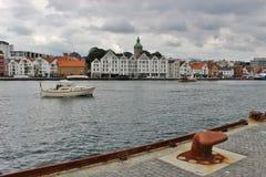 Skyline of Stavanger, Norway. Stock Images