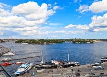 Skyline of Stockholm, Sweden Royalty Free Stock Photography