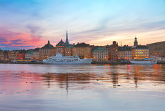 Skyline of Stockholm, Sweden Royalty Free Stock Photo