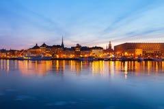 Skyline of Stockholm, Sweden Royalty Free Stock Image