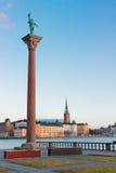 Skyline of Stockholm, Sweden Royalty Free Stock Images