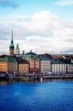 Skyline of Stockholm, Sweden Stock Image