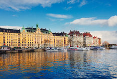 Skyline of Stockholm, Sweden Stock Photography