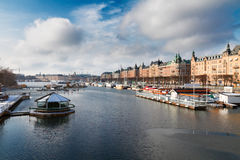 Skyline of Stockholm, Sweden Stock Photo