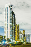 Skyline of Sunny Isles Beach Royalty Free Stock Photos