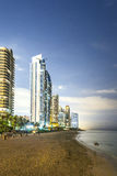 Skyline of Sunny Isles Beach Royalty Free Stock Photo