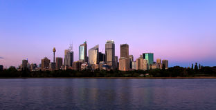 Skyline Sydney Fotos de Stock