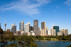 Skyline Sydney Royalty Free Stock Images