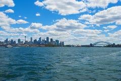 Skyline of Sydney Stock Photography