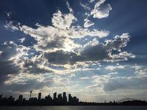 Skyline Sydneys CBD Lizenzfreie Stockfotografie