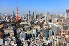 Skyline, Tóquio, Japão Foto de Stock