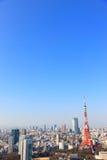 Skyline, Tóquio, Japão Fotos de Stock Royalty Free