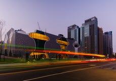 Skyline of taichung city, taiwan Stock Image