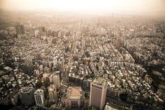 Skyline Taipei. Taiwan in Sunset Royalty Free Stock Photos