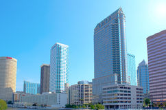 Skyline Tampa-, Florida Lizenzfreie Stockbilder