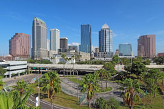 Skyline of Tampa, Florida Royalty Free Stock Photo