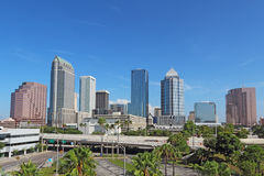 Skyline of Tampa, Florida Stock Photography