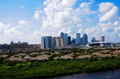 Skyline Tampas Florida Stockfotos