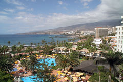 Skyline of Tenerife Royalty Free Stock Photos