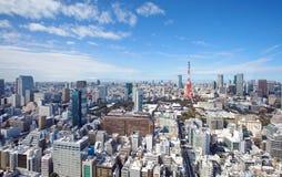Skyline of Tokyo Stock Photo