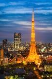 Skyline of Tokyo, Japan Stock Photo