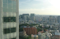 Skyline of Tokyo Japan Royalty Free Stock Images