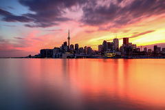 Skyline Toronto Fotos de Stock Royalty Free