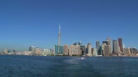 Skyline, Toronto, Canada stock video footage