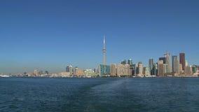 Skyline, Toronto, Canada stock video