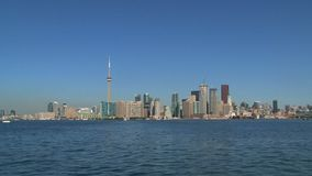 Skyline Toronto, Canada stock video