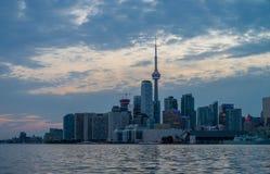 Skyline of Toronto in Canada Stock Image