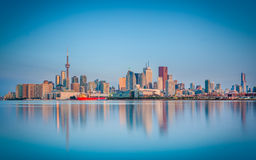 Skyline of Toronto, Canada Stock Photos