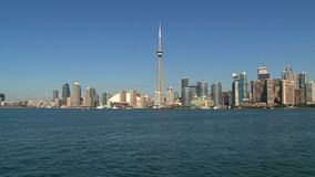 Skyline Toronto from a ferry, Ontario, Canada
