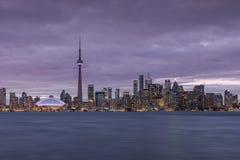 The Skyline of Toronto Stock Photography