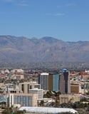 Skyline of Tucson Arizona Royalty Free Stock Photography