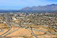 Skyline of Tucson, Arizona Stock Photography