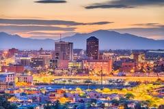 Skyline Tucsons, Arizona, USA lizenzfreies stockbild