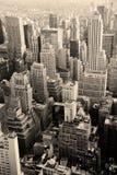 Skyline urbana da cidade, New York City imagem de stock royalty free