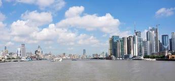 Skyline urbana da paisagem imagem de stock