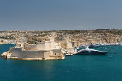 The skyline of Valetta Stock Photo