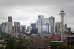 Skyline van Denver Royalty-vrije Stock Afbeelding