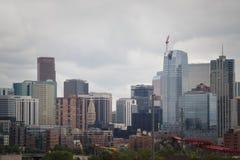 Skyline van Denver Royalty-vrije Stock Foto's