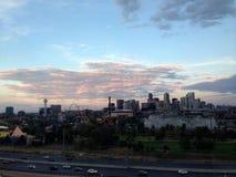 Skyline van Denver Stock Afbeelding