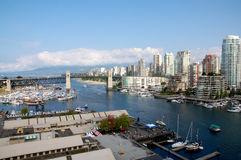 Skyline of Vancouver Royalty Free Stock Image