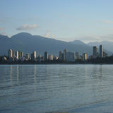 Skyline of Vancouver Stock Photography